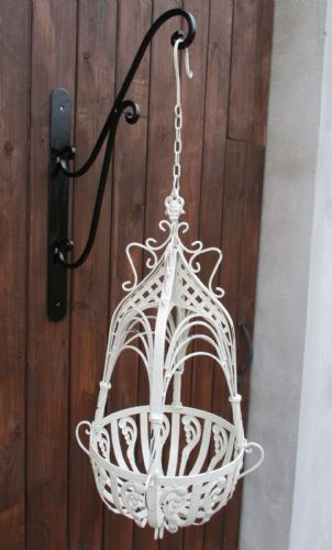 Victorian Styled Hanging Basket Small